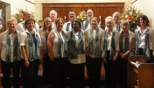 St Francis Choir Dec 2013