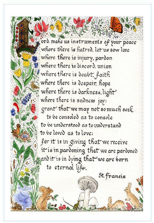 St Francis e Letter 16th November 2014 | St Francis of ...