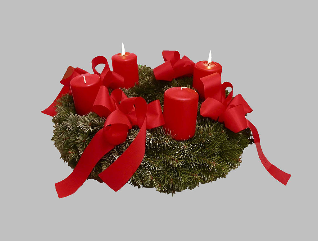 The Advent Wreath Is A Christian Tradition That Symbolizes Four Weeks Of It Traditionally Lutheran Practice But Has Spread To Many