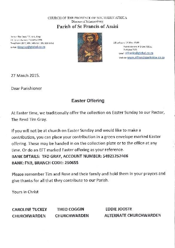 Easter appeal 2015 ltr