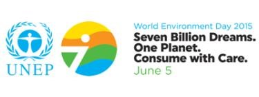 World environment day 2015 logo