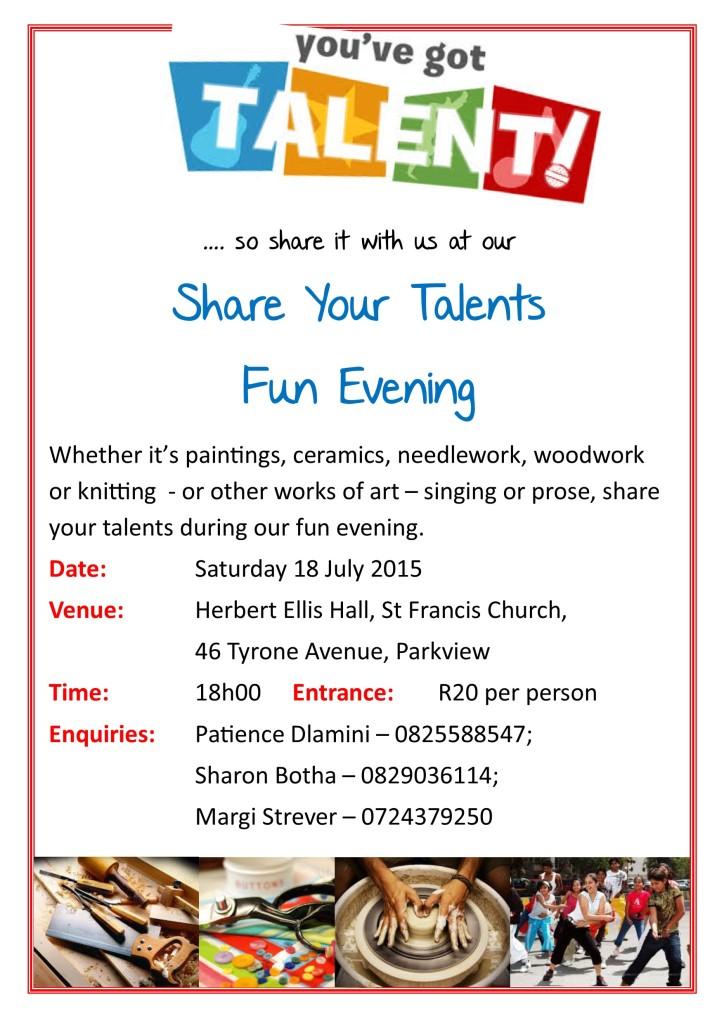 talents poster
