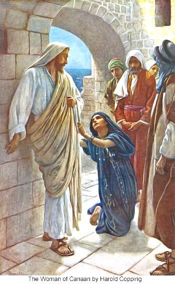 Jesus healing the woman