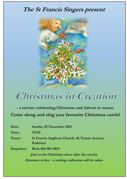 Christmas in Creation Dec 2015