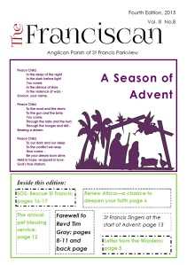 Franciscan front page